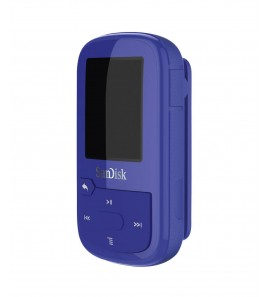 SANDISK MP3 CLIP SPORT PLUS 16GB NIEBIESKI