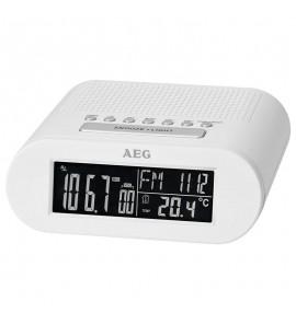 Radiobudzik AEG MRC 4145 F biały