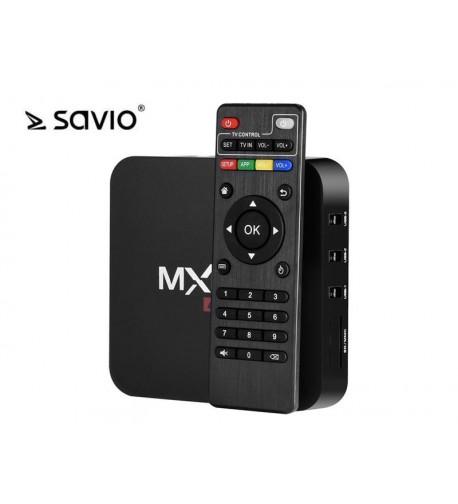 SAVIO TV BOX ANDROID 6.0,HDMI,4K,4XUSB,WIFI SAVTVB