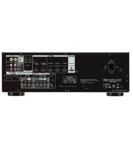 Zestaw Denon HTS AVR-X540B + CINEMATIC 5.0 czarny